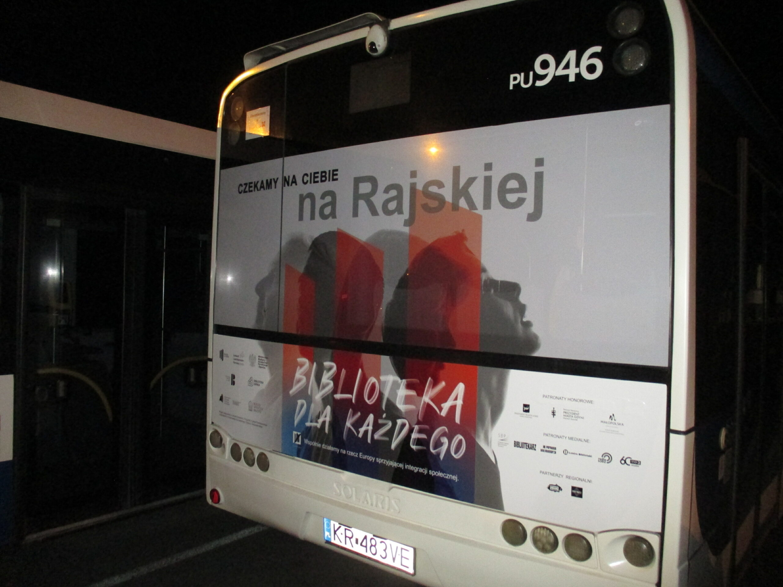 Reklama autobus